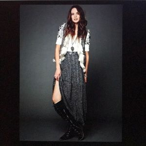 Free People RARE Starry Eye Maxi Skirt